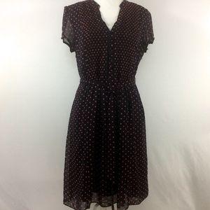 MSK polka dot dress